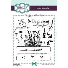 Creative Expressions Designer Collection A6 Stamp Set - Sweet Meadow