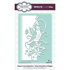 Creative Expressions Paper Cuts Edger Charming Parrot Craft Die