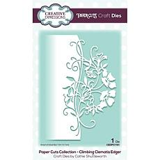 Creative Expressions Paper Cuts Edger Climbing Clematis Craft Die