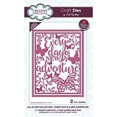 Creative Expressions Sue Wilson All In One New Adventure Craft Die