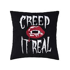 Creep It Real Pillow