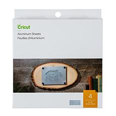 "Cricut Aluminum Sheet 4"" x 4"" 4-pack"