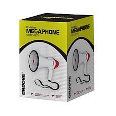 Croove Portable 30-Watt Bullhorn Megaphone