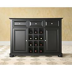 Crosley Alexandria Buffet Server with Wine Storage