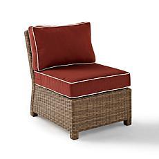 Crosley Bradenton Outdoor Wicker Chair - Sangria