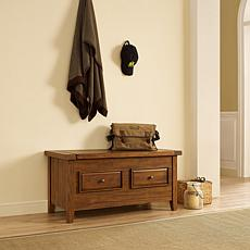 Crosley Furniture Sienna Storage Bench - Moroccan Pine