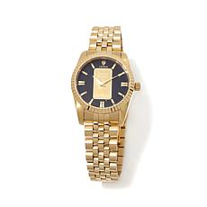 Croton Gold Ingot Goldtone Petite Bracelet Watch