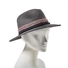 Curations Caravan Braided Panama Hat