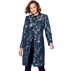 Curations Embroidered Coat