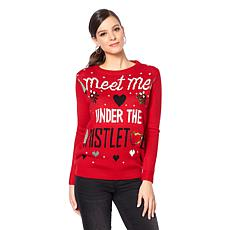Curations Meet Me Under the Mistletoe Sweater