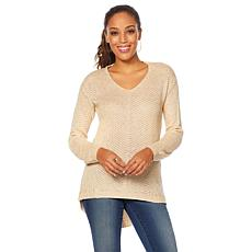 Curations Open Weave Sweater