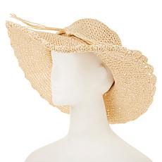 Curations Scalloped Floppy Hat