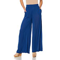 Curations Wide-Leg Gauze Pant