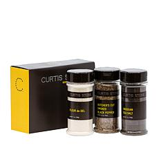 Curtis Stone 3-pack Premium Finishing Salts and Pepper Set