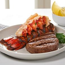 Curtis Stone (4) 5 oz. Aussie Filet Mignon and (4) Lobster Tails