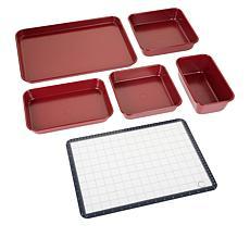Curtis Stone Dura-Bake® 6-piece Bakeware Set