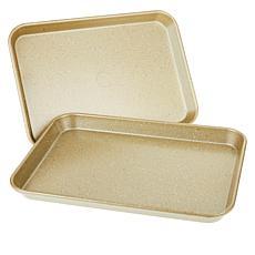 """Curtis Stone Dura-Bake® Set of 2 9"""" x 13"""" Nonstick Sheet Pans"""