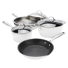 Curtis Stone Dura-Pan Nonstick 8-piece Cookware Set