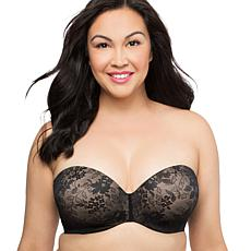 Curvy Couture Strapless Sensation Multi-Way Bra 8418f1b7c