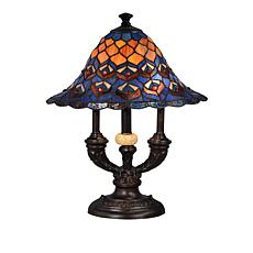 style canada products lamp tiffany floral grady plus lamps table swirl