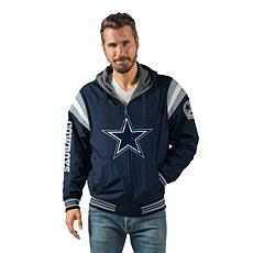 best authentic 3bb5e 4b182 Officially Licensed NFL Hardball Reversible Hooded Jacket by Glll