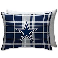 timeless design d9d5c fc0fd Dallas Cowboys PLUSH PLAID Sherpa 20x26