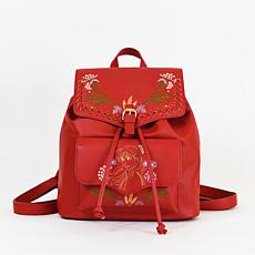 Danielle Nicole Disney Frozen 2 Anna Nature Backpack in Red