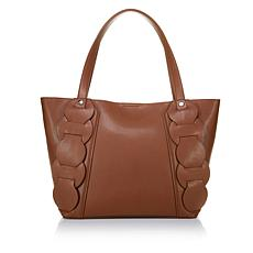 Danielle Nicole Leather Flora Tote