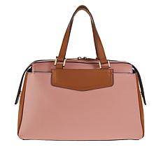 Danielle Nicole Leather Satchel with RFID Technology