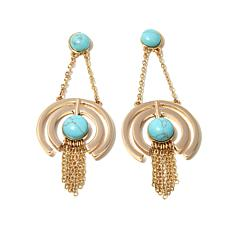 "Danielle Nicole ""Orbiting Hoops"" Chandelier Earrings"