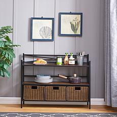 Darien Bakers Rack Sideboard