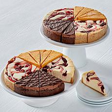 David's Cookies (2) 4.25lb Holiday Swirl Cheesecakes - Nov. Auto-Ship®