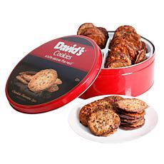 David's Cookies 2 lb. Tin of Florentine Lace Cookies