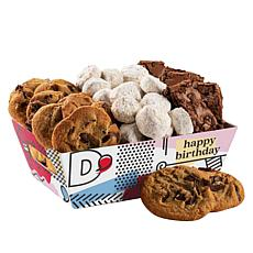 David's Cookies Happy Birthday Cookies and Brownies Crate