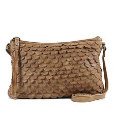 Day & Mood Jamie Leather Crossbody - Camel