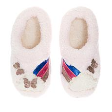 Dearfoams Girl's Novelty Slipper