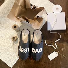 Dearfoams Men's Dad Scuff