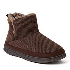 Dearfoams Men's James Woven Boot