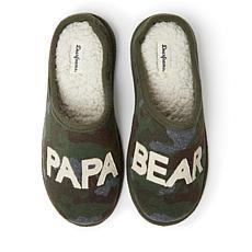 Dearfoams Men's Papa Bear Clog