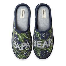 Dearfoams Men's Reid Papa Bear Clog