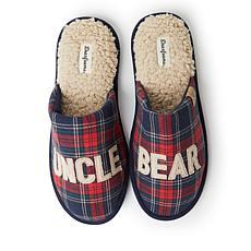 Dearfoams Men's Uncle Bear Scuff Slipper