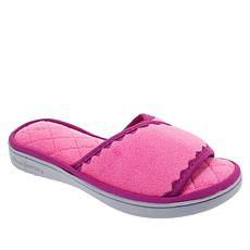 Dearfoams Micro Terry Memory Foam Padded Slipper
