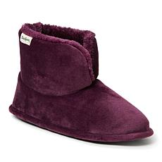 Dearfoams Women's Sara Velour Bootie Slipper