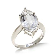 "Deb Guyot Herkimer ""Diamond"" Quartz  Solitaire Ring"