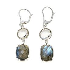 Deb Guyot Herkimer Quartz and Gemstone Earrings