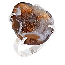 Deb Guyot Studio Sterling Silver Drusy Ring