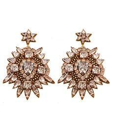"deepa by Deepa Gurnani®  ""Torie"" Beaded Drop Earrings"
