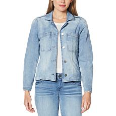 Democracy Seamed Denim Jacket