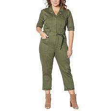Democracy Stretch Twill Jumpsuit