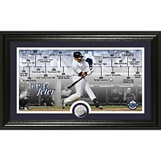 Derek Jeter 2020 HOF Induction Timeline Silver Coin Photo Mint